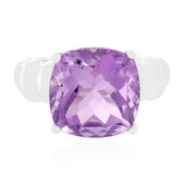 Anello in argento con Ametista Rose de France