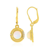 Orecchini in argento con Opale di Welo (MONOSONO COLLECTION)