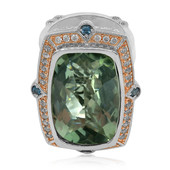 Anello in argento con Ametista Verde (Dallas Prince Designs)