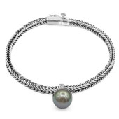 Bracciale in argento con Perla Tahitiana (Nan Collection)