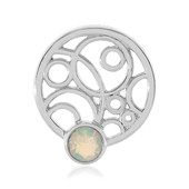 Ciondolo in argento con Opale di Welo (MONOSONO COLLECTION)