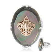 Anello in argento con Madreperla (Dallas Prince Designs)