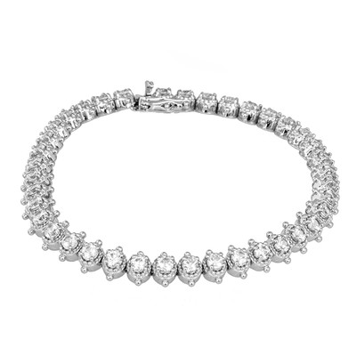 Bracciale in argento con Zircone (Dallas Prince Designs)