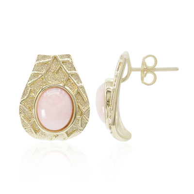 Orecchini in argento con Opale Rosa (MONOSONO COLLECTION)