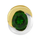 Ciondolo in argento con Diopside Russo (MONOSONO COLLECTION)