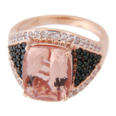 Anello in oro con Morganite (Lance Fischer)