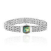 Bracciale in argento con Conchiglia Abalone (Nan Collection)