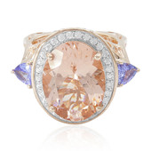 Anello in oro con Morganite (Dallas Prince Designs)