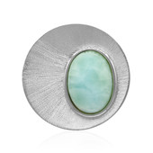 Ciondolo in argento con Larimar (MONOSONO COLLECTION)