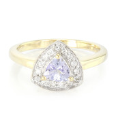 Anello in oro con Tanzanite Fancy