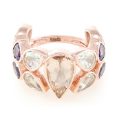 Anello in oro con Morganite Nigeriana (Annette)