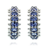 Orecchini in argento con Tanzanite (Dallas Prince Designs)
