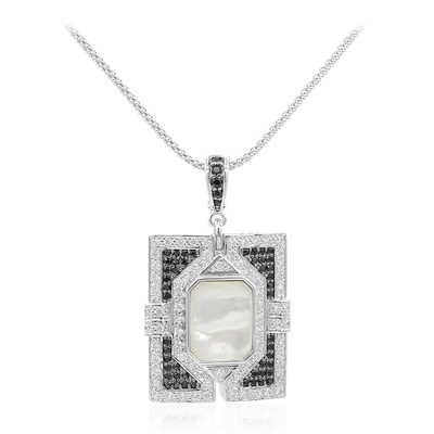 Collana in argento con Madreperla (Dallas Prince Designs)
