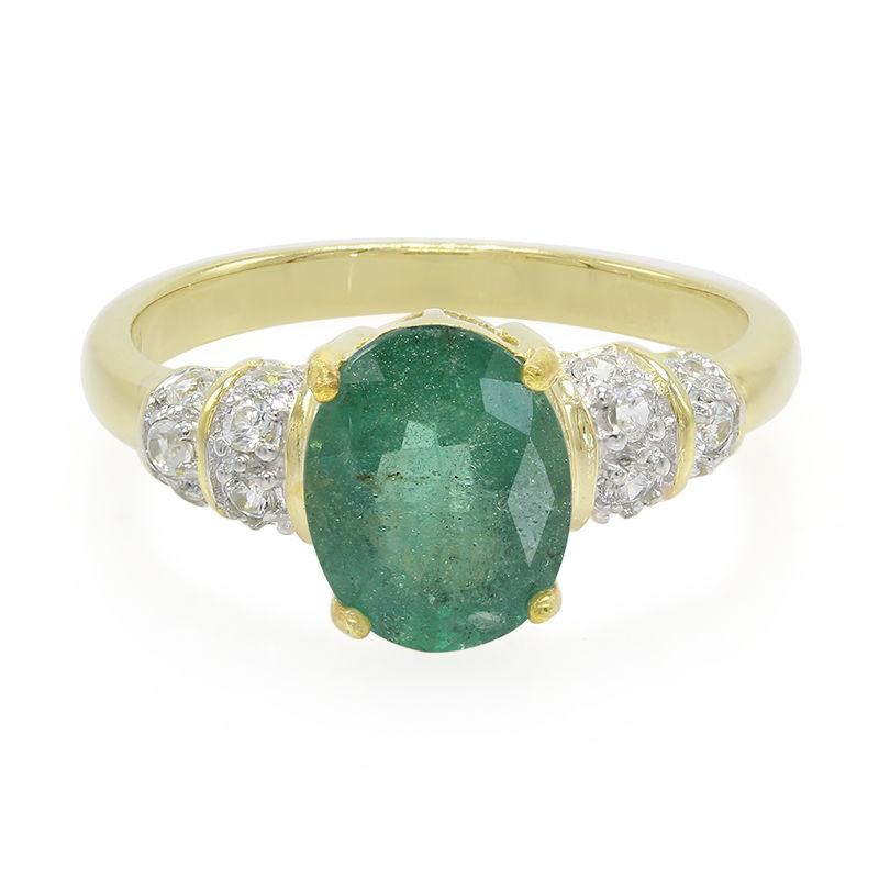 2a4e109c25 Anello in argento con Smeraldo Bahia (Cavill)-5447EK   Gioielli Juwelo