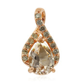 Ciondolo in oro con Morganite (Annette)