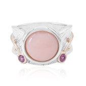 Anello in argento con Opale Rosa (MONOSONO COLLECTION)