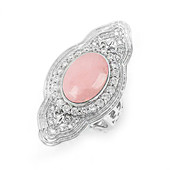 Anello in argento con Opale Rosa (Dallas Prince Designs)