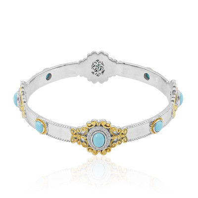 Bracciale in argento con Turchese (Dallas Prince Designs)