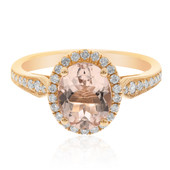 Anello in oro con Morganite AAA (CIRARI)