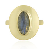Anello in argento con Labradorite (MONOSONO COLLECTION)