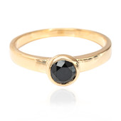 Anello in oro con Diamante Nero