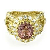 Anello in oro con Tormalina Rosa (Dallas Prince Designs)