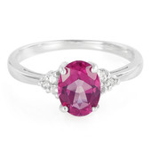Anello in argento con Topazio Grape