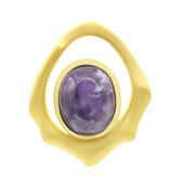 Ciondolo in argento con Charoite (MONOSONO COLLECTION)