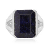 Anello in argento con Zaffiro Midnight Blue