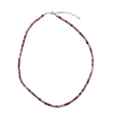 Collana in argento con Spinello Fancy
