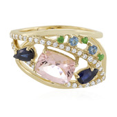 Anello in oro con Morganite (Adela Gold)