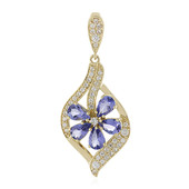 Ciondolo in oro con Tanzanite (Adela Gold)