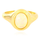 Anello in argento con Opale di Welo (MONOSONO COLLECTION)