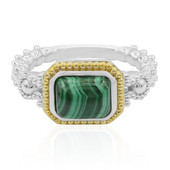 Anello in argento con Malachite (Dallas Prince Designs)