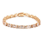 Bracciale in oro con Morganite AAA