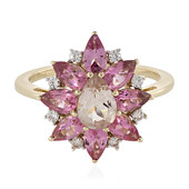 Anello in oro con Morganite (La Revelle)