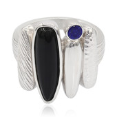 Anello in argento con Onice (MONOSONO COLLECTION)