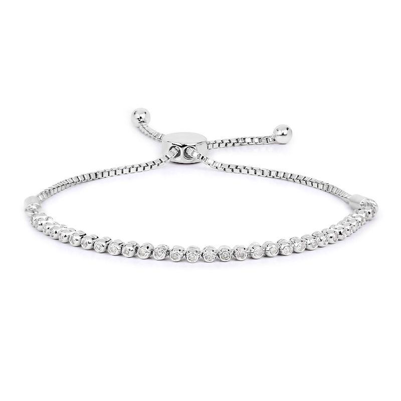 raccolto prezzo incredibile nuovi prezzi più bassi Bracciale in argento con Diamante-9734DT   Gioielli Juwelo