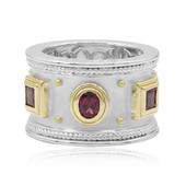 Anello in argento con Rodolite (Dallas Prince Designs)