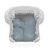 Anello in argento con Labradorite (Dallas Prince Designs)