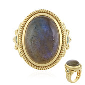 Anello in argento con Labradorite (Memories by Vincent)