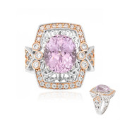 Anello in argento con Kunzite (Dallas Prince Designs)