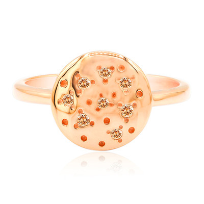 Anello in oro con Diamante Rose de France SI (Annette)