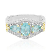 Anello in argento con Apatite (Dallas Prince Designs)