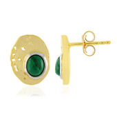Orecchini in argento con Malachite (MONOSONO COLLECTION)