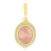 Ciondolo in argento con Morganite