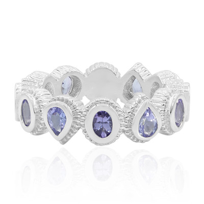 Anello in argento con Tanzanite (Dallas Prince Designs)