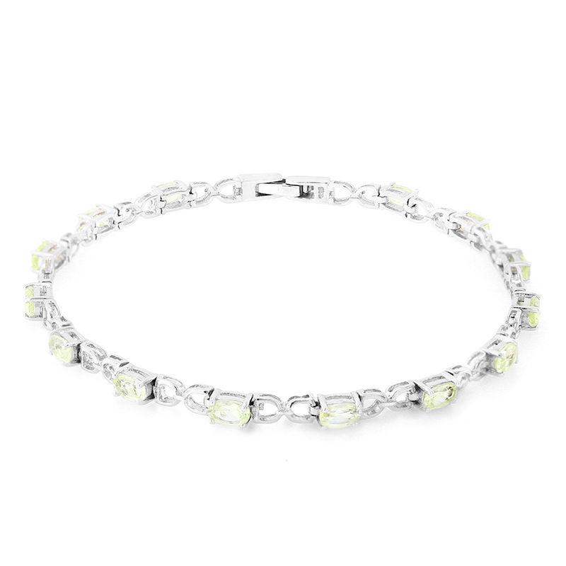 Sconto del 60% ricco e magnifico autentico Bracciale in argento con Ambligonite-5806UK   Gioielli Juwelo