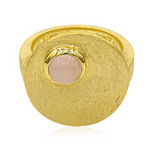 Anello in argento con Quarzo Rosa (MONOSONO COLLECTION)