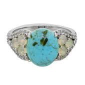 Anello in argento con Turchese Kingman